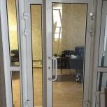 Продам алюминевые двери, Новосибирск