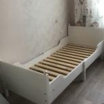 Продам детскую деревянную кровать Икея, Новосибирск