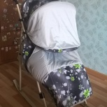 Санки-коляска Kristy Luxe Comfort, Новосибирск