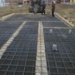 Заливка фундаментной плиты, Новосибирск