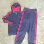 Спортивный костюм  Adidas  б/у для девочки, Новосибирск