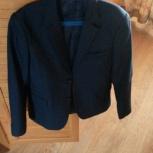 Продам пиджак на мальчика 11-13 лет., Новосибирск