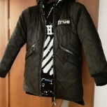 Куртка двусторонняя зимняя подростковая, Новосибирск
