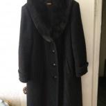 Продам зимнее драповое пальто (новое), Новосибирск