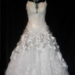 Свадебное платье с перламутровым блеском, Новосибирск