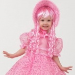 Карнавальный костюм Кукла  рост 100 -120 напрокат, Новосибирск