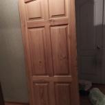 Дверь из массива сосны (800х2000), Новосибирск