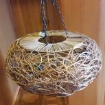 Люстра 3 рожковая Воронье гнездо, Новосибирск