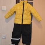 Демисезонный комплект: полукомбинезон H&M 86+, куртка обычная на 2 г, Новосибирск