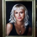 Портреты по фото  на заказ, Новосибирск