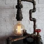Настольная лампа в стиле лофт/ Loft lamp, Новосибирск