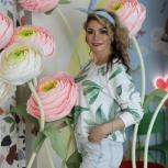 Оформление для свадьбы и фотосессии - ростовые цветы, Новосибирск