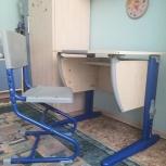 Продам парту растущую Дэми и стул, Новосибирск