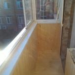 Остекление и отделка балконов и лоджий, Новосибирск