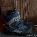 Продам зимние ботинки для мальчика ecco  р.34, Новосибирск