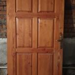 Двери  филенчатые, б/у, Новосибирск