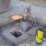 Алмазное бурение отверстий в кирпиче, бетоне., Новосибирск