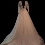 Пудровое свадебное платье, Новосибирск