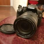 Зеркальный фотоаппарат Canon 600 D, Новосибирск