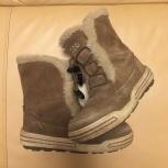 продам сапожки ecco зимние для девочки, Новосибирск