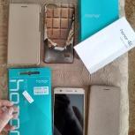 Телефон Huawei Honor 4c с 2 симкартами. золотой), Новосибирск