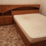 Кровать 2х спальная с тумбочками, Новосибирск