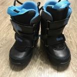 Продам детские ботинки для сноуборда Burton, Новосибирск