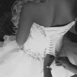 Свадебное платье с шлейфом, Новосибирск