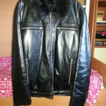 Куртка зимняя кожаная, Новосибирск