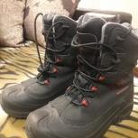 Продам зимние ботинки Columbia для мальчика, Новосибирск