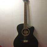 продам электроакустическую гитару WASHBURN WJ7SCEBM Jumbo, Новосибирск
