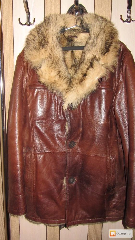 f4f503009c5 Продам мужскую кожаную дубленку