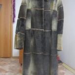 Зимняя шуба из меха морского котика, Новосибирск