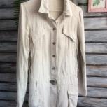Льняной пиджак отличного качества, Новосибирск
