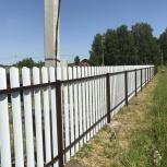 Забор ворота калитки, Новосибирск