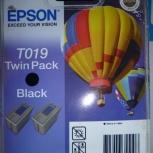 Продам Оригинальные Картриджи Epson T019 Black, Новосибирск