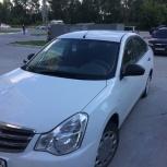 Аренда автомобиля Nissan Almera, Новосибирск