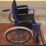 Продам инвалидную коляску с костылями, Новосибирск