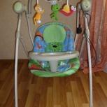 Продам детскую качелю шезлонг, Новосибирск