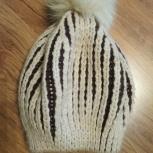 Продам стильную женскую шапку в отличном состоянии, Новосибирск
