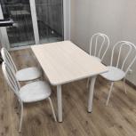 Стол и стулья новые, Новосибирск