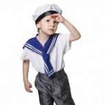Костюм карнавальный  моряк, солдат напрокат, Новосибирск