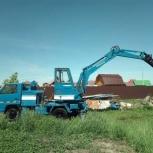 Аренда гидромолота-экскаватора на базе авто ИСУЗУ -ЭЛЬФ, Новосибирск