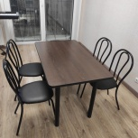 Кухонный стол и стулья новые, Новосибирск