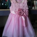 Платье праздничное новое 104-110, Новосибирск