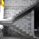 Изготовление бетонных лестниц. Бетон. Кирпич, Новосибирск