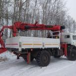 Камаз-вездеход: манипулятор - автовышка - буроям, Новосибирск