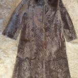 Шуба мутоновая светло-коричневая, Новосибирск