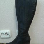продам женские сапоги на каблуках, Новосибирск