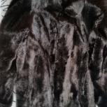 Продам шубу норковую мех перевёртыш размер 48-50., Новосибирск